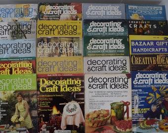 Items Similar To Vintage Retro Decorating Craft Ideas Magazine