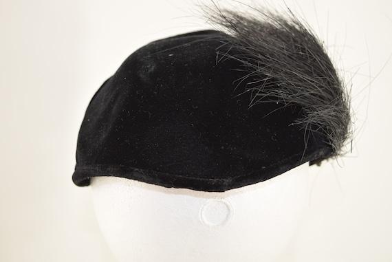 Vintage Cocktail Hat 1950s Fascinator - image 3