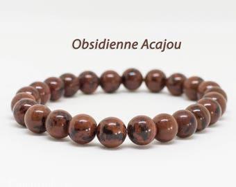 Mahogany Obsidian bracelet