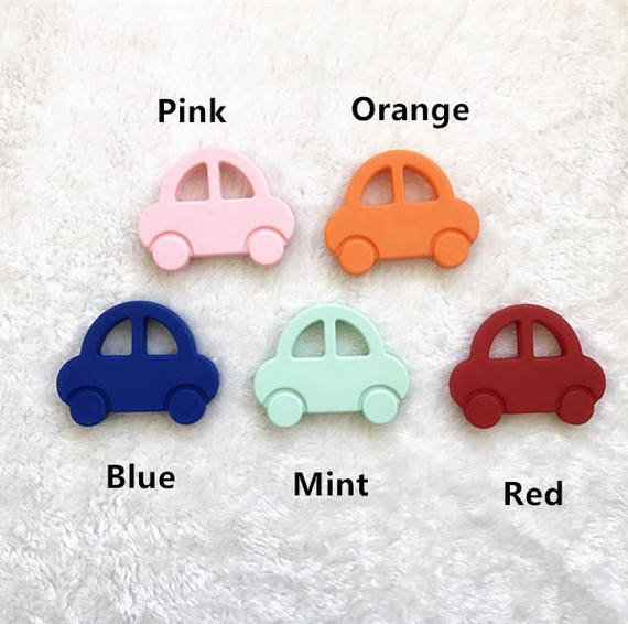 Car Infant Baby Teether Silicone Pacifier Soother Chewable Teething Toy BPA-free