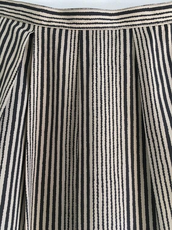 Aquascutum of London / minimalist midi / pinstrip… - image 4