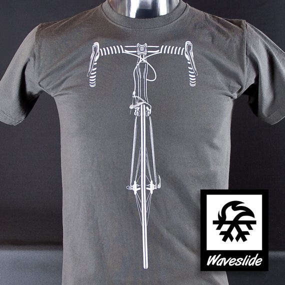Functional Sport-T-shirt mountainbike MTB Bicycle bike Illustration by Waveslide ROr09Q3bZ