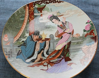 Chinese Porcelain Plate Hand painted