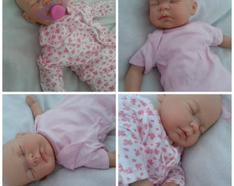 Reborn Baby - Girl Or Boy - Painted Hair In A Colour Of Your Choice - Made Just For You! - Handmade By A UK Artist -