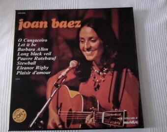Box of 3 vinyl Joan Baez
