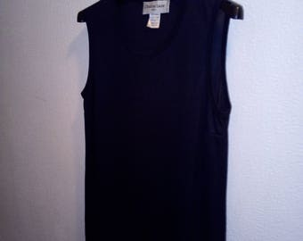 Long tunic, black Christine Laure size 40