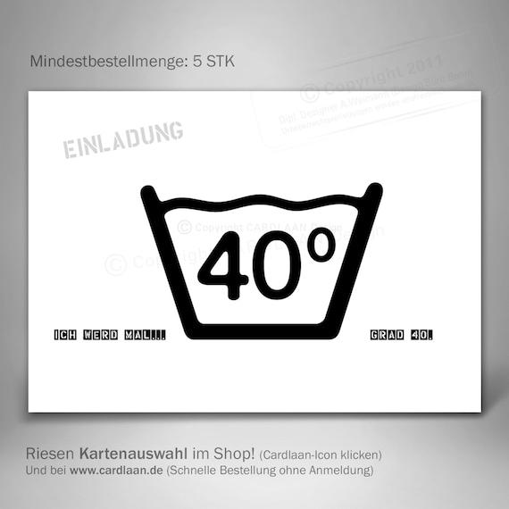 Einladungen 40 Geburtstag Vierzigster Geburtstag Lustige Einladung Witzige Einladungskarte 40 Vierzigster Kreative Einladung Postkarte