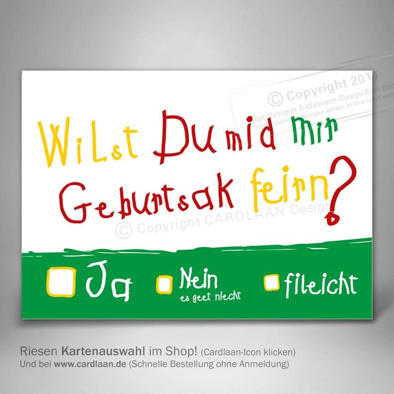 Invitations 30th Birthday Dreissigster Funny