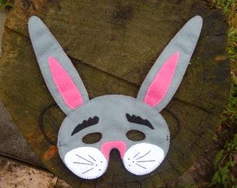 Rabbit Mask in Feutrine