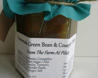 Homemade Green Bean & Courgette Chutney