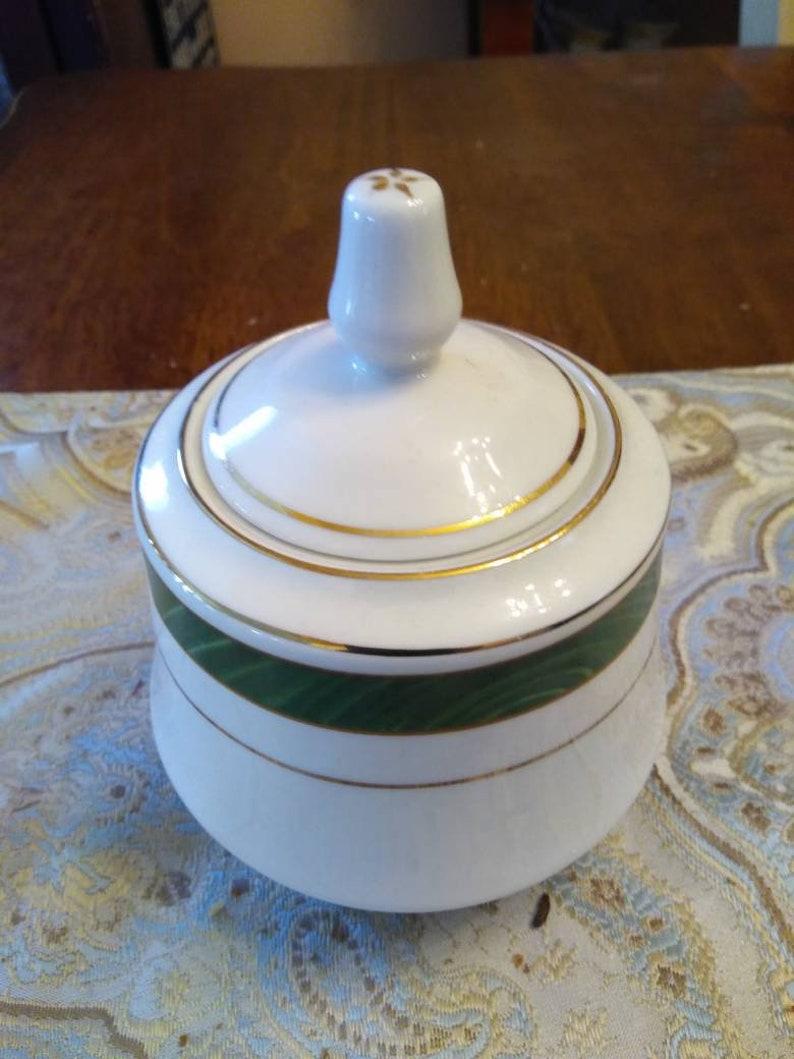 Majesty Fine China Sugar Bowl