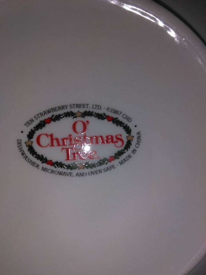 O Christmas Tree Dinner sets 20 Pieces