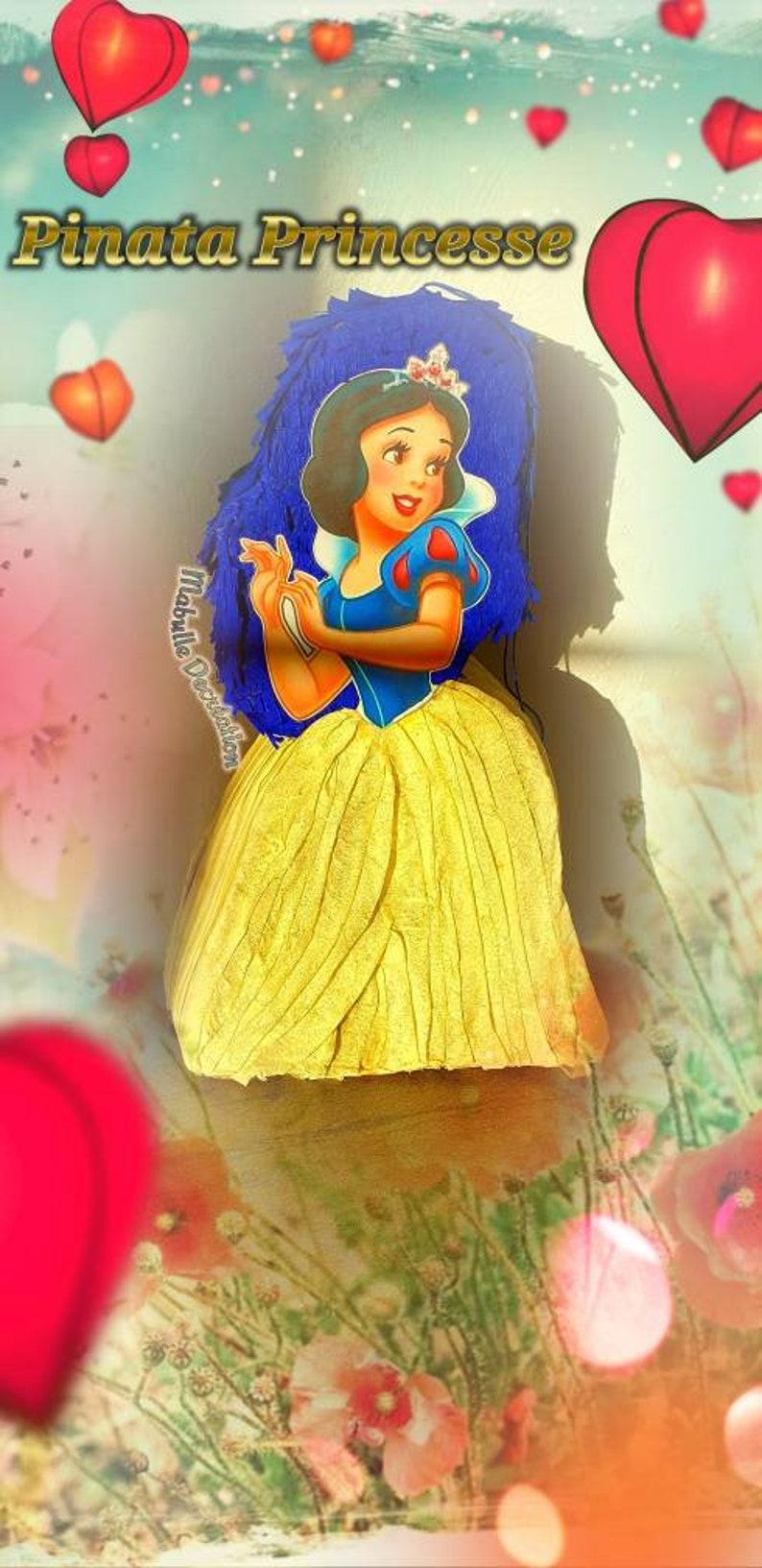Pinata Snow White Blanche Neige