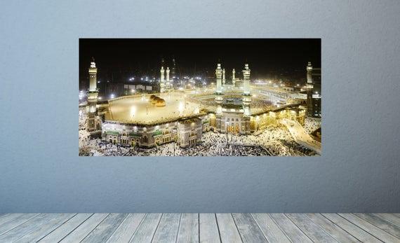 Islamic Wall Decal Kaaba Wall Murals Mecca Wall Mural