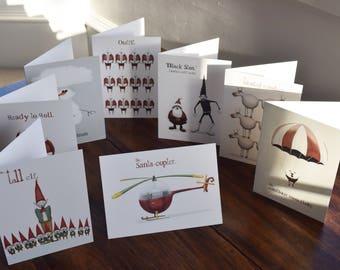 Christmas Cards (Set of 8)