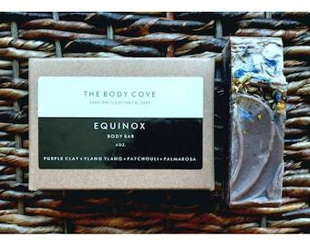 Equinox Body Bar - All natural soap, Handmade soap, Vegan soap, Cold process soap, Essential oil soap, Bar soap