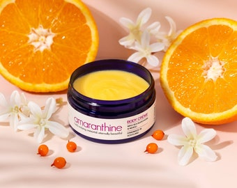 Whipped body butter - body butter - body crème - body moisturiser - whipped shea butter  - mothers day - amaranthinebeauty - sea buckthorn