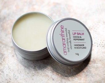 Lip balm - natural lip balm - lip balm favours - organic lip balm - small gift for her - amaranthinebeauty - stocking filler