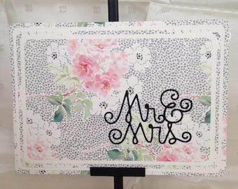 Mr & MRS - Wedding Card
