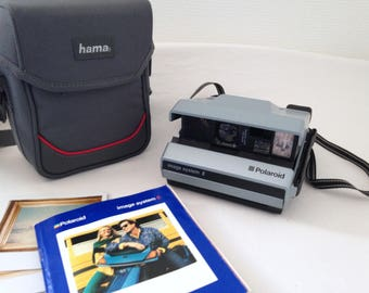 Camera Polaroid Image System E. Very unusual. vintage 1988. In working condition