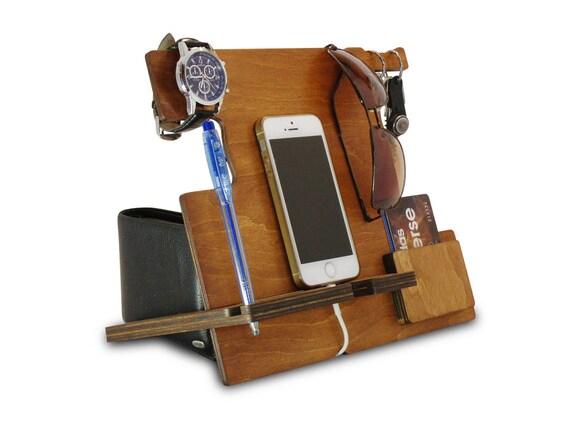 Men Docking Station Or Office Desk Accessories For Men Desk | Etsy