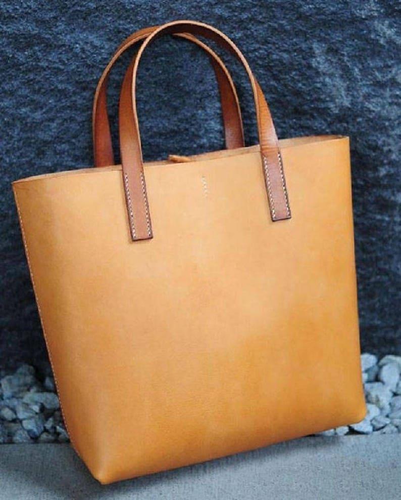 3661705b55c Vrouw shopper tas leder ambachtelijke patroon | Etsy