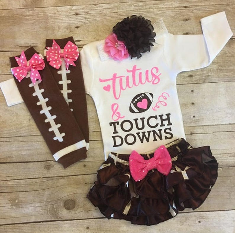 99db3826b Baby Girl Football Girls Football Outfit Baby Football Pink