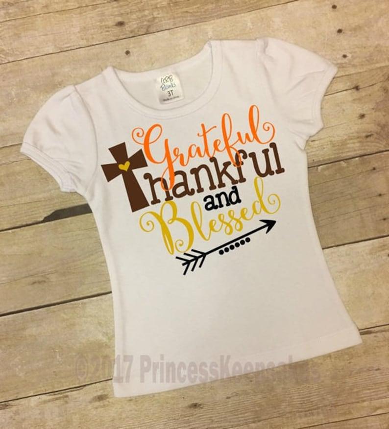 b1b6df43d3ee Girls Thanksgiving Shirt Girls Fall Shirt Girls Turkey Day   Etsy
