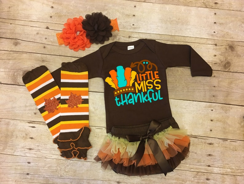 af4c23fc1b9b Thanksgiving Outfit Baby Girl Baby Girl Thanksgiving Baby | Etsy