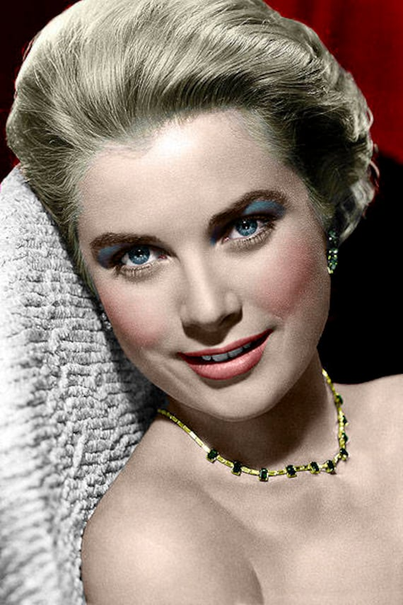 Grace Kelly Photo 15c Etsy