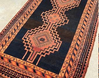 REDUCED AGAIN!!! 4x7 Vintage Lori Shiraz Persian Rug