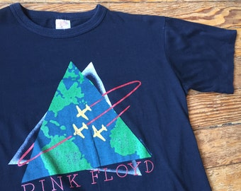1987 Pink Floyd Concert Tour T Shirt 80's