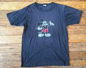 Vintage Disney Mickey Mouse T Shirt