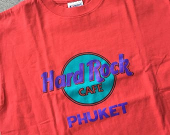 Vintage Hard Rock Cafe Phuket T-shirt