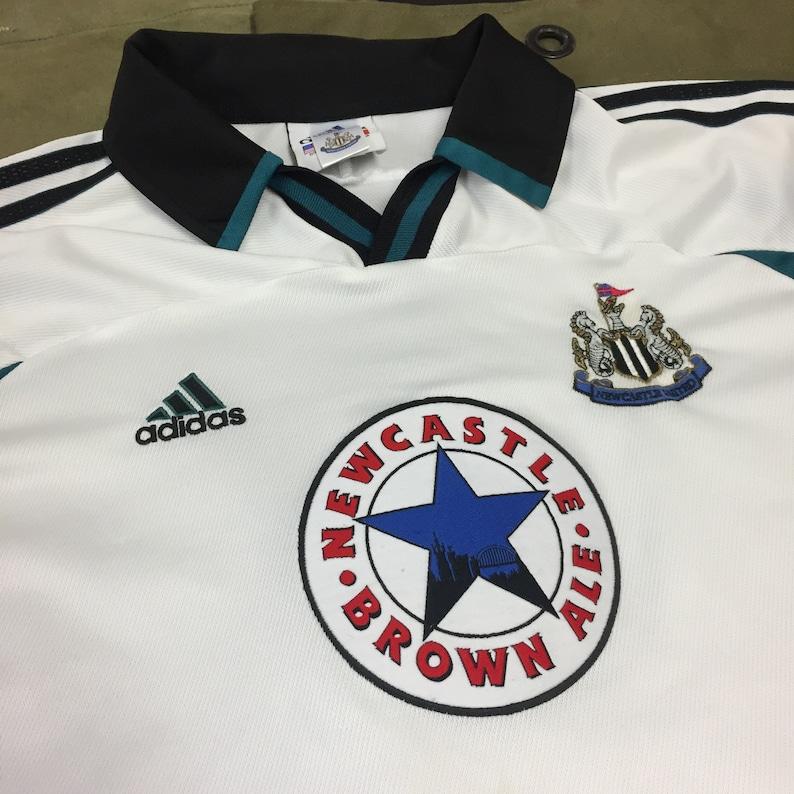 wholesale dealer f9597 c805f 90s Adidas Newcastle United Football Soccer Vintage Jersey