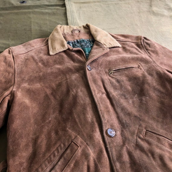 90 Polo Country Ralph Lauren Brown Leather Vintage