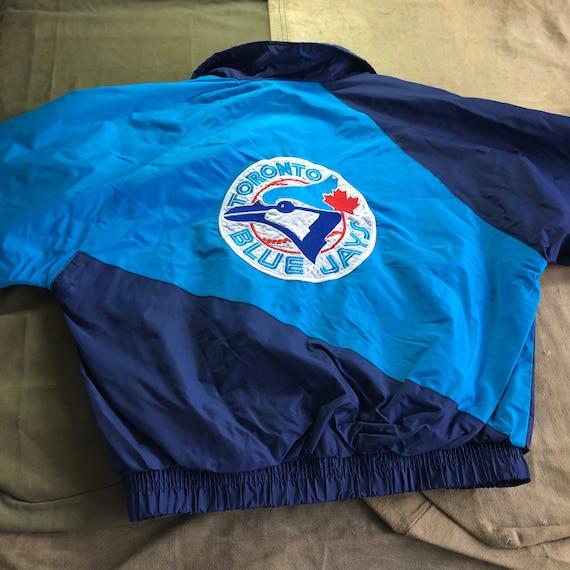 90s MLB Toronto Blue Jays Baseball Windbreaker Vin