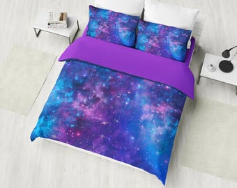 Galaxy Bedding Etsy