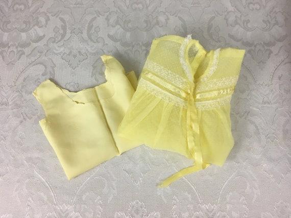 Lemon Yellow Satin Laces