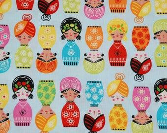 Robert Kaufman - Little Senoritas in Fiesta/Cotton/Fabric/Sewing/Quilting