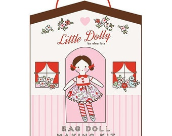 Little Dolly Rag Doll Making Kit - Peny Rose Fabrics