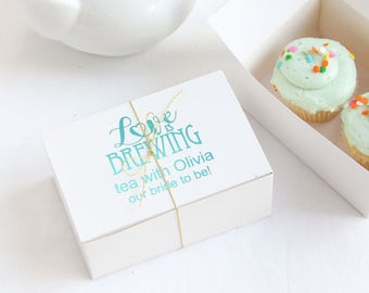 Personalized Wedding Cake Slice Boxes d637f87fd4ddf