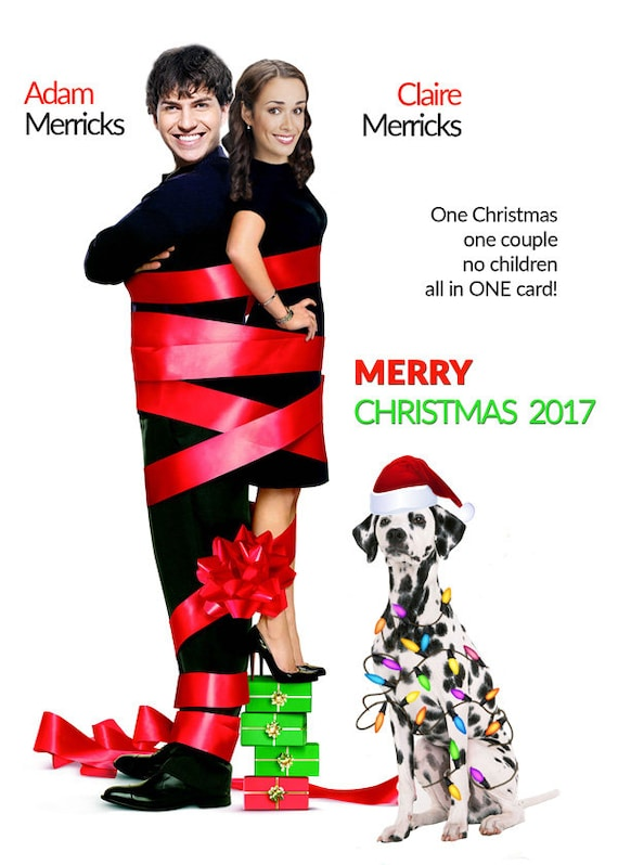 Couples Christmas Card, Four Christmases Parody, Your FACES