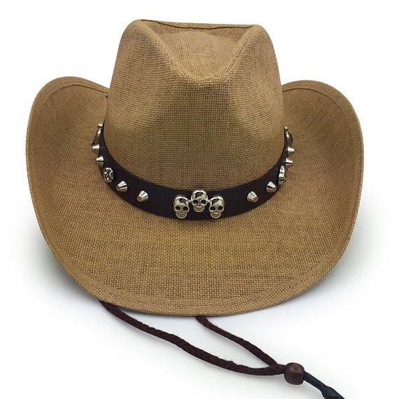 7503656cf9a38 Old Stone 100% Paper Straw Cowboy Drifter Style Sun Hat AH-215