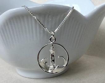 6f181d06e Sterling Silver Lighthouse Necklace