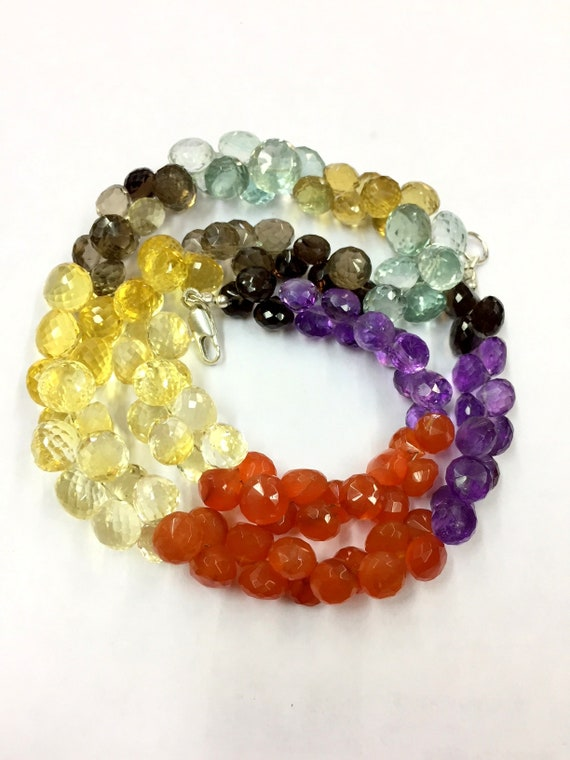 Natural Amethyst Faceted Round Beads 8-9 mm Superb Quality Gemstone Beads 18 Strand