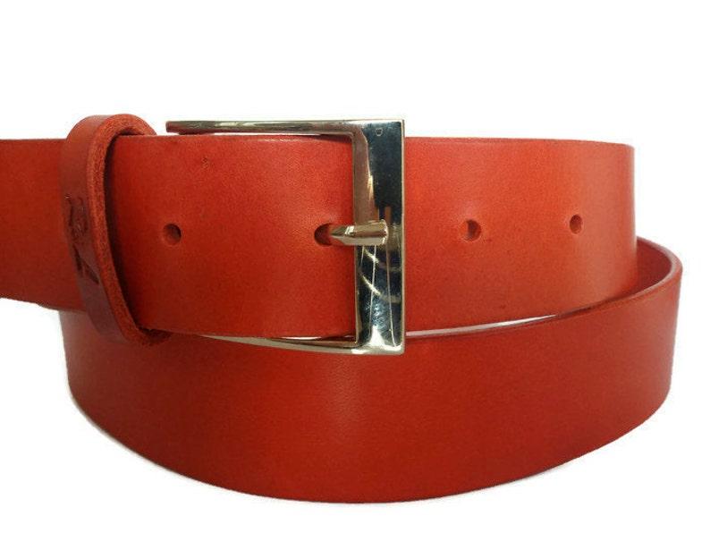 9f60207a0 Coral leather belt womens belt designer belts for women belt image 0 ...