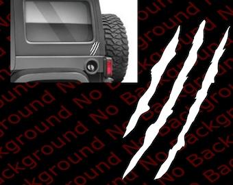 JEEP WRANGLER Die Cut Car Window//Laptop//Phone Vinyl Decal Sticker JW002 LARGE