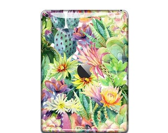 Water colour painting iPad Skin Sticker flower iPad Case iPad Decal art iPad Cover painting iPad Sticker iPad Air iPad Pro 9.7 12 IS 086