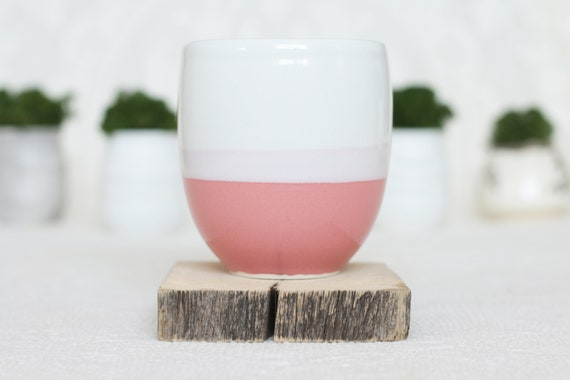 Pink GRAPEFRUIT candle wood wick.